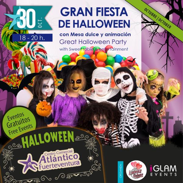 Gran Fiesta de Halloween